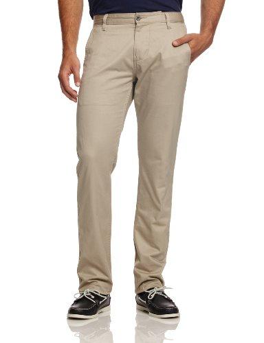 Dockers Pantalone Alpha Slim Twill Beige Chiaro W30L34
