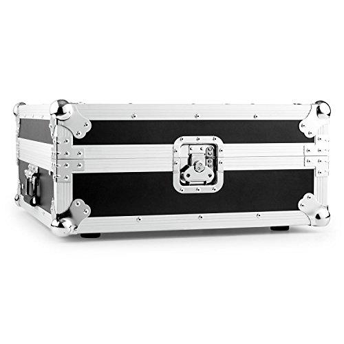 FrontStage FSC2U • Mixer Case • Hartschalen-Flightcase • Rack Case • Transportkiste • ABS-Holzgehäuse • Aluminiumprofile • Butterfly-Verschlüsse • Ecken-Schutz • Tragegriffe • schwarz-silber