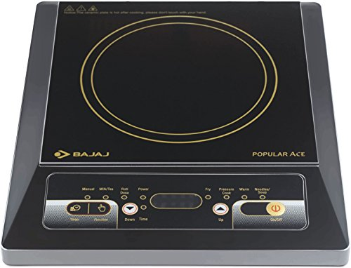 Bajaj Popular Ace 1400-watt Induction Cooker (black)