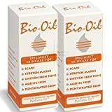Bio Oil Skin Care Scars Stretch Marks Uneven Tone Ageing Dry Face Body - 200ml - PACK OF 2