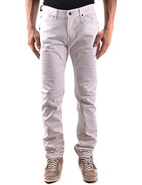 Daniele Alessandrini Hombre MCBI086593O Blanco Algodon Jeans