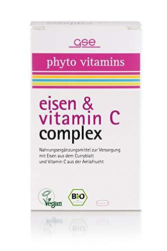 GSE Eisen und Vitamin C Complex (BIO), 60 Tabletten, 1er Pack (1 x 30 g) -