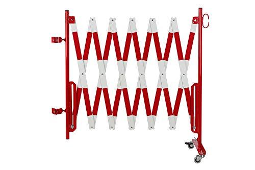 Doc Grille de protection Ciseaux montagekit pour les poteaux de blocage existants (non inclus dans la livraison) 4000 mm, diamètre 60 mm rouge/blanc
