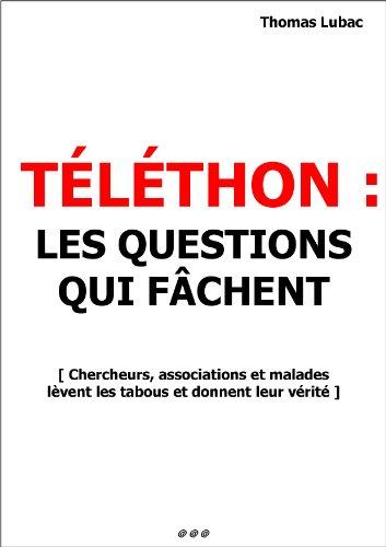 Téléthon : les questions qui fâchent