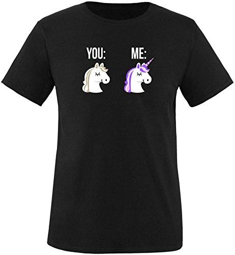 EZYshirt You ME Einhorn Kinder T-Shirt (Bonnie Und Clyde Kostüme Für Kinder)
