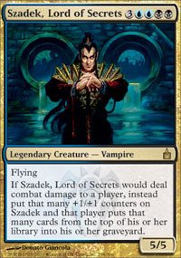 Magic: the Gathering - Szadek, Lord of Secrets - Ravnica by Magic: the Gathering