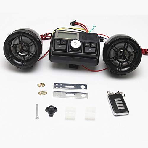 wasserdichte 12 V Motorrad Fahrrad FM Radio USB TF MP3-Player Dieb Stereo Lautsprecher Audio-Sound-System mit Fernbedienung