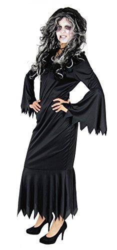 Unheimlich Fledermaus Kostüm - Foxxeo Fledermaus Kleid Vampir Kostüm für Damen für Halloween Fasching und Karneval Größe S