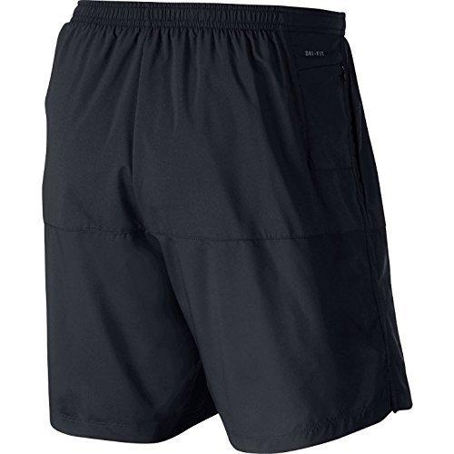 Nike - 5distance - Short - Homme Noir (Noir/Reflective Silver)