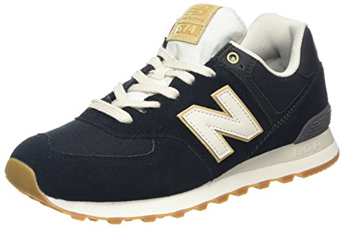 New Balance Herren ML574O, Sneaker, Schwarz (Black/ML574OUA), 46.5 EU (Balance Herren New)