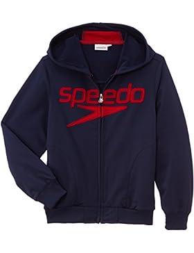 Speedo 39-279 Moritz sudaderas con capucha para niño Azul azul marino Talla:FR : 8 ans (Taille Fabricant : 128...