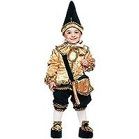 ae67ad07bf29 Costume di Carnevale da BURATTINO di Pinocchio Neonato Vestito per Neonato  Bambino 0-3 Anni