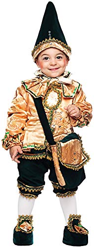 3c3afca63350 Costume di Carnevale da BURATTINO di Pinocchio Neonato Vestito per Neonato Bambino  0-3 Anni