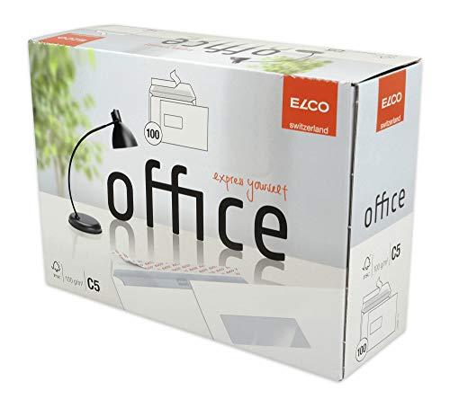 ELCO Office Versandtasche C5 100 g/m² FSC-zertifiziert mit Haftverschluss 90 x 45 mm in Shop-Box 100 Stück weiß