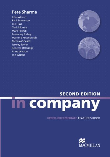 In Company Upper Intermediate: Teacher's Book by Simon Clarke (February 02,2010)