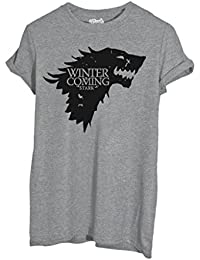 T-Shirt Hiver Stark Game Of Thrones - Film By Mush Dress Your Style