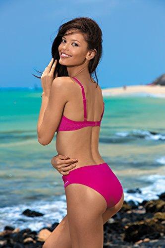 Feba Damen Push Up Bikini Set Carla Verso Muster-03KS