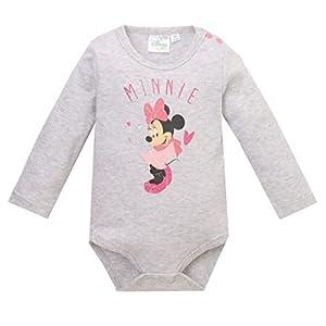 Disney-Minnie-2124-Body-para-Bebs-Gris-2-aos-Talla-del-Fabricante-24-Meses