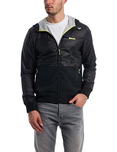 Bench Herren MODERN Softshell Jacke, Schwarz (Black Beauty Bk11179), Medium (Herstellergröße: M)