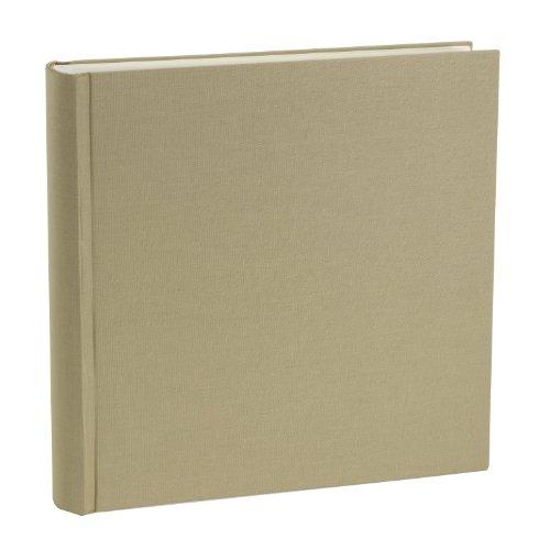 Semikolon Grand Bound Leinen Foto Album, Beige, xxl -