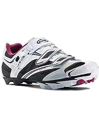 Northwave chaussures de vTT pour femme katana sRS radschuhe blanc/noir/rose