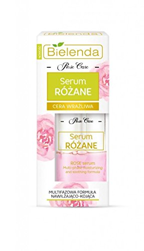 BIELENDA ROSE CARE ANTIFALTEN Multi-Phasen SERUM mit Hyaluronsäure 30 ml