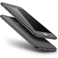 [Nicht für iPhone 7] iPhone 8 Hülle,iPhone 8 360 Grad Hülle,SainCat 3 in 1 Hart PC Hülle mit Gehärtetes Glas Handyhülle... preisvergleich bei billige-tabletten.eu