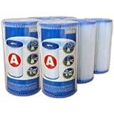 Intex 6 Filter Cartridges - Type A