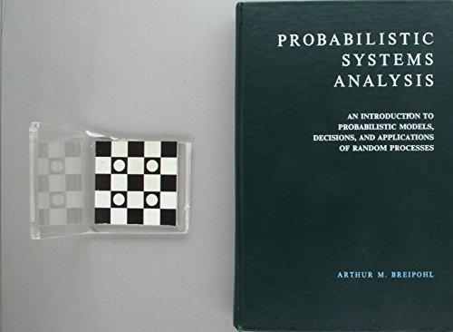Probabilistic Systems Analysis por Arthur M. Breipohl