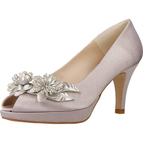Zapatos tacón, Color Gris, Marca ÁNGEL ALARCÓN