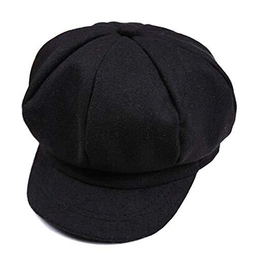 sboy Mütze Gatsby Schirmmütze Wolle Barett Kappe Mütze Hut Baskenmütze Beret Cap für Unisex Jungen und Mädche Kinder ()