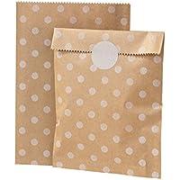 Talking Tables bolsas de regalo 'Mix and Match' con el diseño de punto .Paquete de 10.