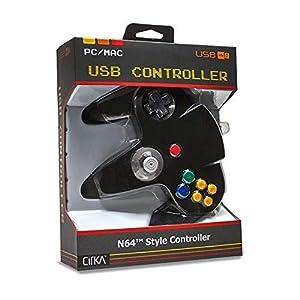 Joystick Nintendo 64 N64 PC and Mac-compatible USB Black