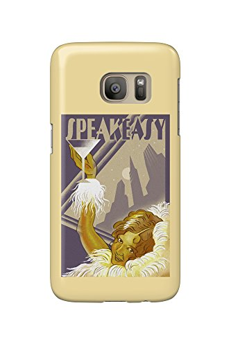Speakeasy - Flapper Girl (Galaxy S7 Cell Phone Case, Slim Barely There)