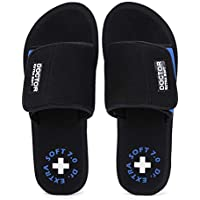 DOCTOR EXTRA SOFT Women's Orthopaedic and Diabetic Velcro Adjustable Strap Comfort Dr Sliders Flipflops and House…