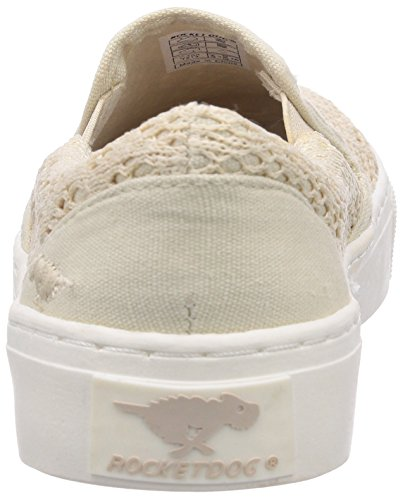 Rocket Dog - DUET, espadrillas da donna Beige (Blanc (Lovely Crochet))