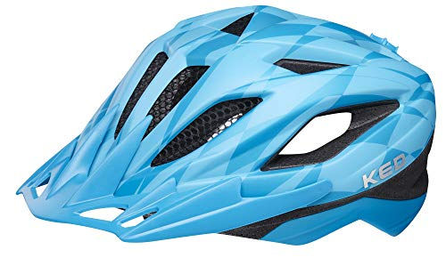 KED Street Jr. Pro Helmet Kids Blue Kopfumfang S/M   49-55cm 2019 Fahrradhelm