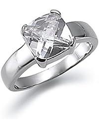 gooix Glamourist 943-3475-099-560 Damen Ring 925 Sterling Silber Weiß Muschelkernperle 17,8 mm Größe 56