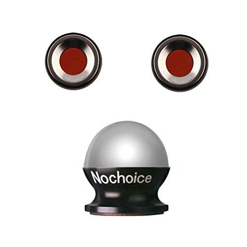 Nochoice® Einstellbar KFZ Handyhalter für Universal Smartphone Handyhalterung Universal Autohalterung Magnet Auto Halter alle Handys(2+1+4 black)