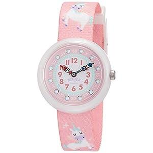 FlikFlak Mädchen Analog Quarz Uhr mit Stoff Armband FBNP121