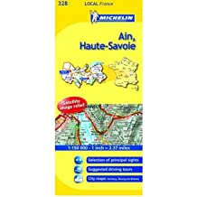 """Ain, Haute-Savoie (Michelin Local Maps) (""""Sheet map, folded"""")(French) - Common"""
