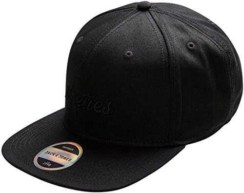 Jack and jones - Simple black cap - Casquette américaine Black