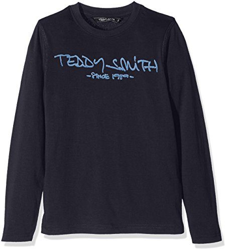 Teddy Smith TICLASS3 ml Jr, T-Shirt Bambino, Bleu (Dark Navy/Coronet Blue), 12 Anni