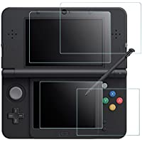 Protezione dello schermo per Nintendo 3DS NUOVO, AFUNTA 2 Pack