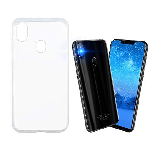 Easbuy Handy Hülle Soft TPU Silikon Case Etui Tasche für Leagoo S9 Smartphone Bumper Back Cover Handytasche Handyhülle Schutzhülle