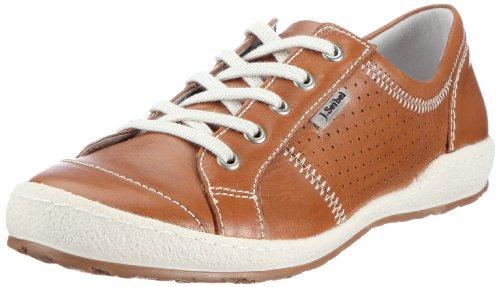 Josef Seibel Schuhfabrik Caspian 75650 51 100, Sneaker donna, Marrone (Braun (natur 100)), 42