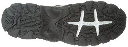 K-Swiss hommes de st329FMC Formation Chaussures noir/blanc