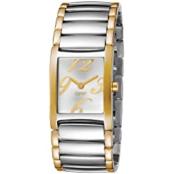 Esprit Damen-Armbanduhr Trace Two-Tone Analog Quarz Edelstahl ES103722004