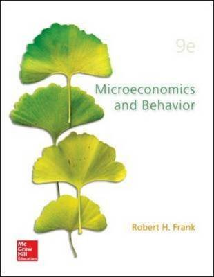 [(Microeconomics and Behavior)] [By (author) Robert H. Frank] published on (March, 2014)