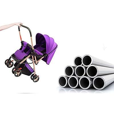 TOL MY Cochecito de bebé Plegable Ligero, Asiento Plegable Ligero Cochecito reclinable Bebé Recién Nacido Bebé Trolley de Cuatro Ruedas Carrito de Dos vías